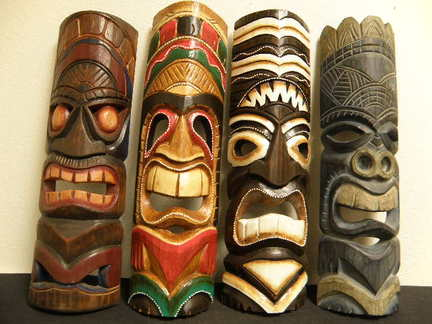 hawaiian masks